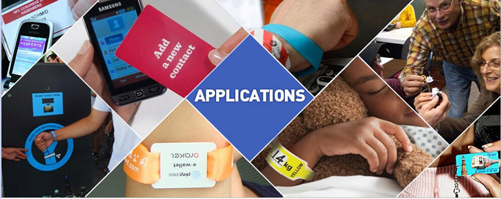 Application for RFID Wristband