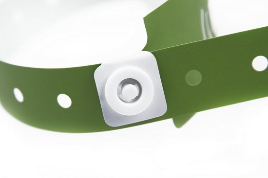 Adjustable Disposable Paper Wristband