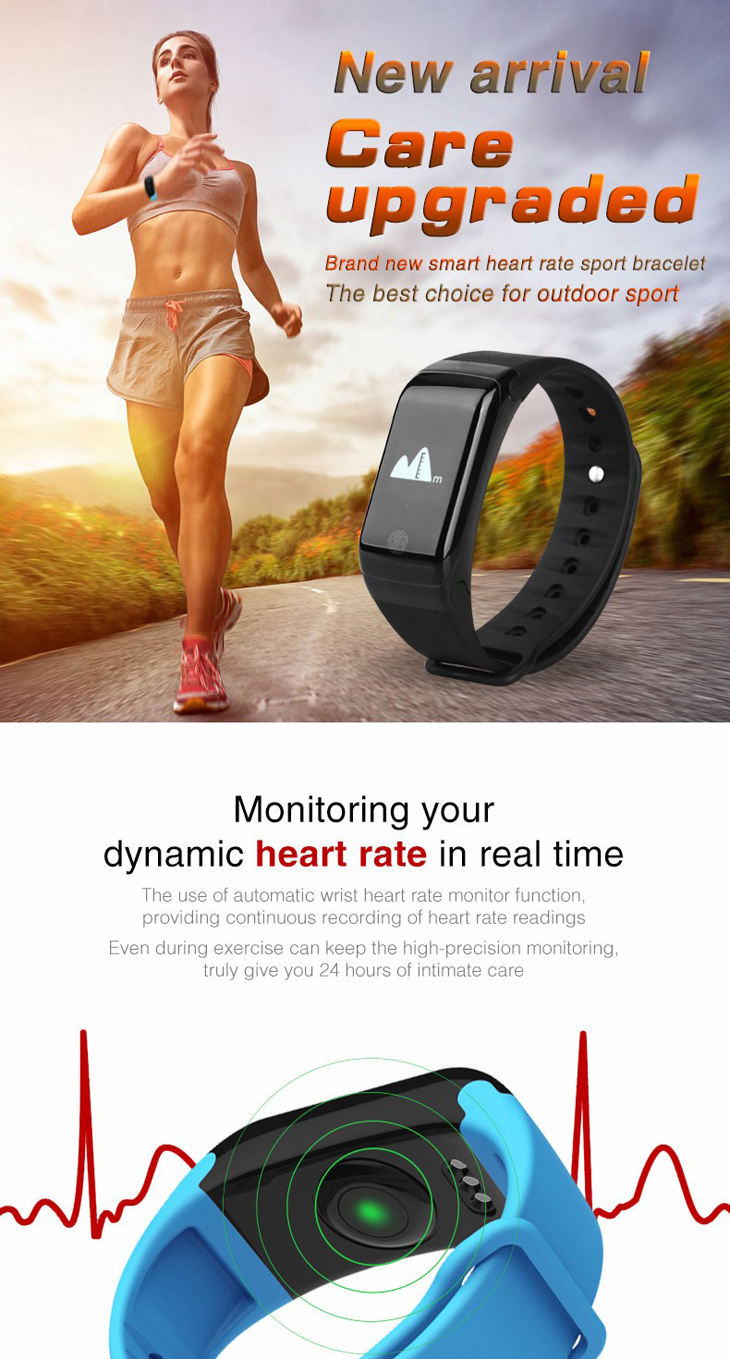 Heart Rate Detection Health Sleep Monitoring Smart