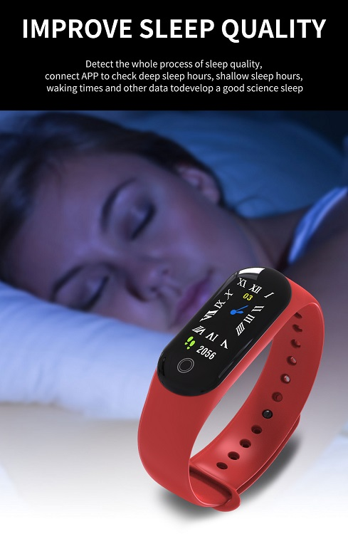 Sleeping test rfid watch