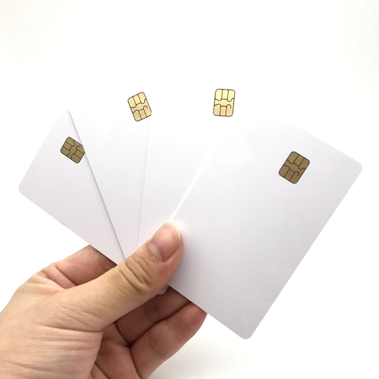 Plastic Contact Smart Cards
