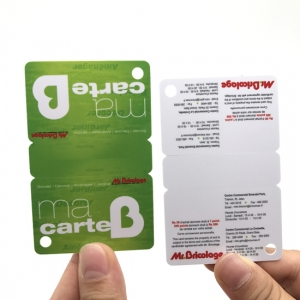 3 cartes d'adhésion Up Tags PVC Combo