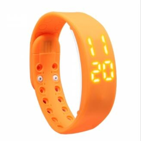 Bracelet intelligent de sport de LED imperméable de RFID