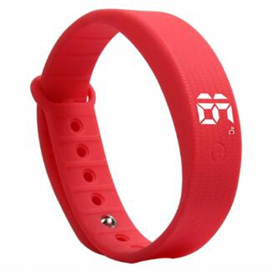 RFID Waterproof Silicone LED Sport Smart Watch