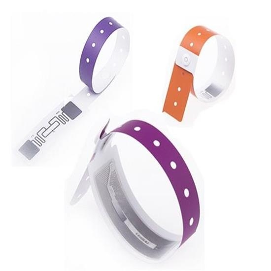 13.56MHZ RFID Disposable Paper Wristband