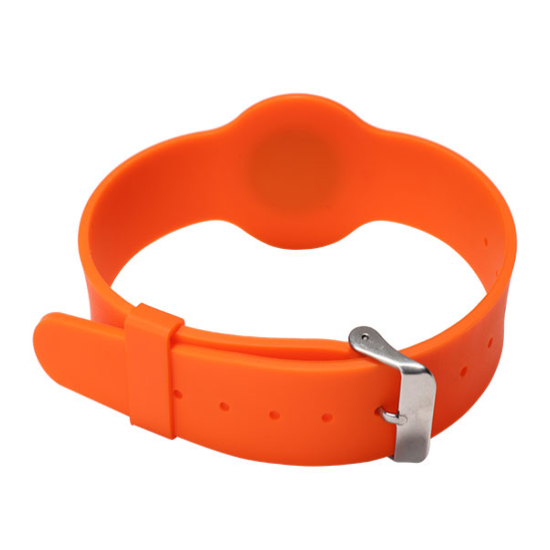 Adjustable RFID Silicone Wristband