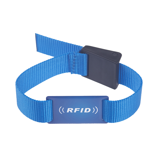 Rfid Festival Woven Wristband