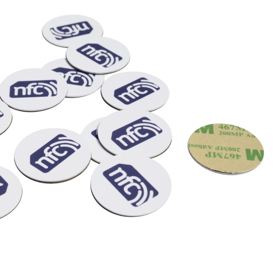 Anti-metal rfid coin tag