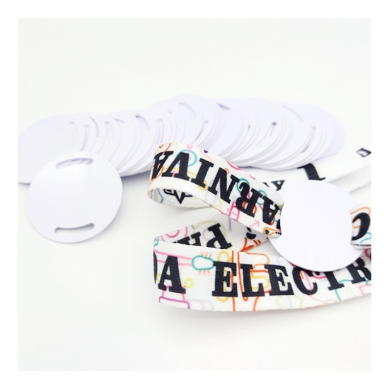 polyester festival RFID wristband